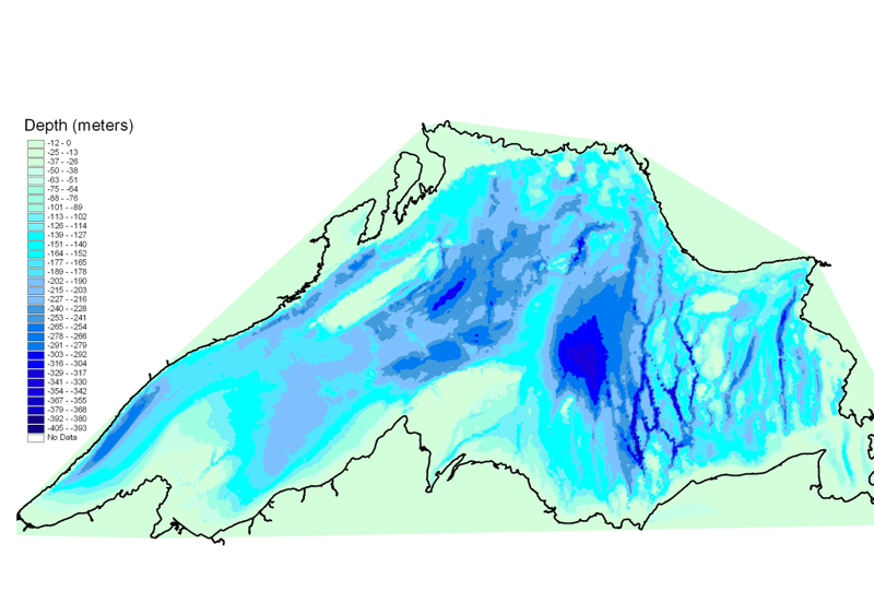 Lake Superior Bathymetry